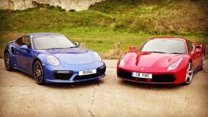 Porsche vs Ferrari. Is one better for Goodwood Park Hill?